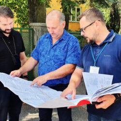 Wprowadzenie wykonawcy na rozbudowę ulicy Kolejowej