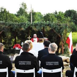 Msza polowa w miejscu bohaterskiej śmierci ks. Ignacego Skorupki