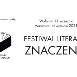 Festiwal Literacki Znaczenia