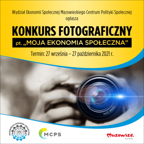 """Konkurs fotograficzny """"MOJA EKONOMIA SPOŁECZNA"""""""