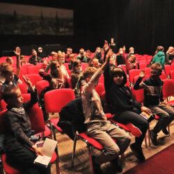 publiczność na Wołomińskim Uniwersytecie Dziecięcym