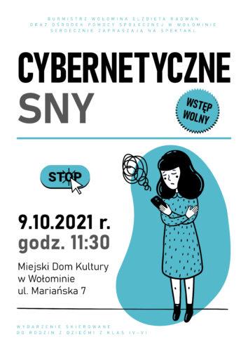 Cybernetyczne sny - bezpłatny spektakl dla dzieci
