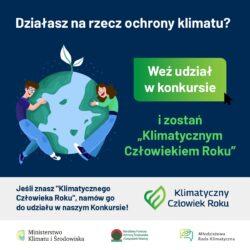 Konkurs Klimatyczny Człowiek Roku