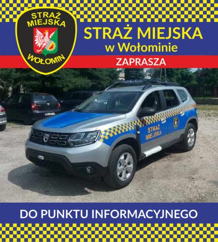 Mobilny punkt informacyjny SM w Lipinkach!